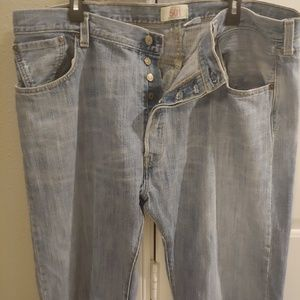 Levi's 501 Straight Button Fly 42x32 Jeans